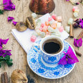 Turkish Coffee Set Stock Photos - 43741593