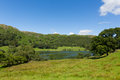 Loughrigg Tarn Lake District Cumbria England Situated North Of Windermere And Village Of Skelwith Bridge Stock Photos - 43750133