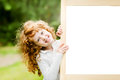 Smiling Girl Near A White Board. Educational And Medical Concept Royalty Free Stock Image - 43763906