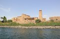 Philae Temple On Agilkia Island As Seen From The Nile. Egypt. Stock Photography - 43774562