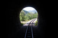 Railroad Tunnel In The Mountains Royalty Free Stock Photos - 43775188