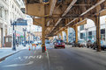 Street In The Loop Area Of Chicago Royalty Free Stock Photos - 43782068