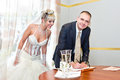 Solemn Registration Of Marriage Stock Photo - 43787690