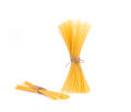 Bow Tie Of Italian Spaghetti Pasta. Royalty Free Stock Photo - 43799255