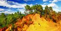 Roussillon, Provence, France Royalty Free Stock Photo - 43802705
