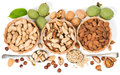 Top View Of Variety Of Nuts Royalty Free Stock Photos - 43805818