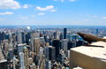 New York City Manhattan Midtown View With Skyscrapers And Blue Sky In The Day Stock Photography - 43807322