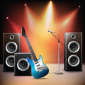 Music Stage Background Stock Photos - 43808483