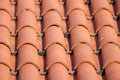 Red Tile Roof Stock Image - 43821891