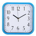Wall Clock On White. Ten Past Ten. Stock Photo - 43825390