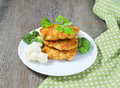 Chicken Cutlet With Vegetables Stock Images - 43838794