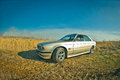 Old BMW Of 5 Series Royalty Free Stock Photography - 43866627