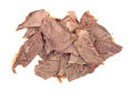 Portion Of Thin Sliced Chuck Roast Royalty Free Stock Images - 43878139
