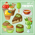 Set Of Sweets. Royalty Free Stock Images - 43879939