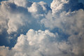 Big Fluffy Clouds Royalty Free Stock Image - 43882866