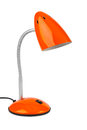 Red Desk Lamp Stock Photography - 43895812