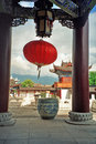 Ornamental Courtyard Of Palace In Lijiang, China Stock Images - 43906894
