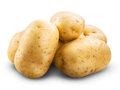 Potato Isolated Royalty Free Stock Photography - 43910827