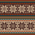 Knitted Pattern Ornament Royalty Free Stock Images - 43918179