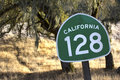 California State Route 128 Through Northern California Wine Coun Royalty Free Stock Photography - 43919907