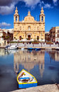 Msida Parish Church Royalty Free Stock Images - 43925419