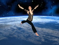 Sky Is The Limit. (3D) Stock Photography - 43937732