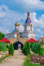 Orthodox Church In Old Orhei, Moldova Royalty Free Stock Photo - 43947255