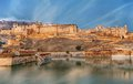 View Of Amber Fort, Jaipur, India Royalty Free Stock Images - 43957749