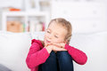 Little Girl Dreaming Royalty Free Stock Image - 43966296
