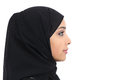 Profile Of An Arab Saudi Woman Face With Perfect Skin Royalty Free Stock Photos - 43977948