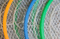 Abstract Metal And Plastic Racquets Royalty Free Stock Photo - 43980705