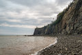 Cliifs Of Cape Enrage Along The Bay Of Fundy Royalty Free Stock Image - 43984826