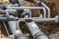 Pipe Connections Royalty Free Stock Image - 43997696