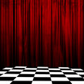 Curtain Background Stock Photography - 4402742