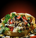 Taco Salad In Shell Royalty Free Stock Photos - 4403328
