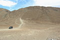 Magnetic Hill In Ladakh. Royalty Free Stock Photo - 44013495