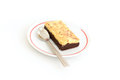 Chocolate Cheese Brownie Royalty Free Stock Photography - 44014737