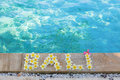 Word Bali Written With Frangipani Flowers Stock Images - 44016064