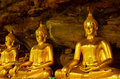 Beautiful Buddha Statue In Cave In Thailand Stock Photo - 44020530