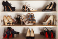 High Heels Cabinet Stock Images - 44027404