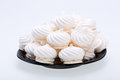 French Vanilla Meringue Cookies Royalty Free Stock Images - 44036419