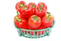Bell Peppers In The Basket Stock Photo - 44044970