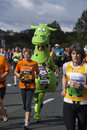 A Fun Competitor In The Great North Run 2011 Royalty Free Stock Photography - 44055197