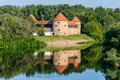 Sisak Castle And Its Water Reflection, Croatia Royalty Free Stock Photography - 44076047