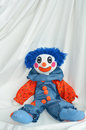 Handmade Clown Doll Royalty Free Stock Image - 44085176