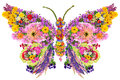 Butterfly From Summer Flowers Stock Photo - 44089160