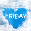Friday Time Happy For Holiday Concept Stock Images - 44099784