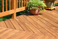 Pine Deck Royalty Free Stock Photography - 4413787