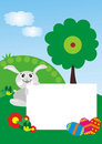 Easter Bunny With Photo Frame Royalty Free Stock Images - 4418749