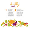 Set Of Vegetables. Healthy Food Table. Stock Images - 44126824